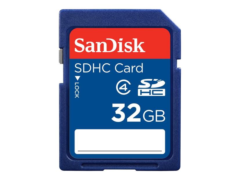 SanDisk Standard 32GB SDHC hukommelseskort