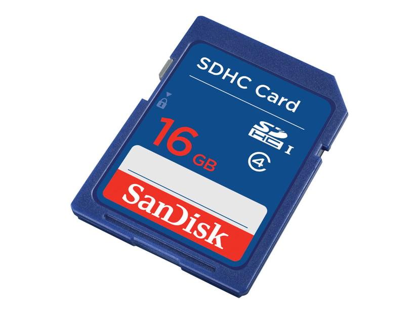 SanDisk Standard 16GB SDHC-minneskort