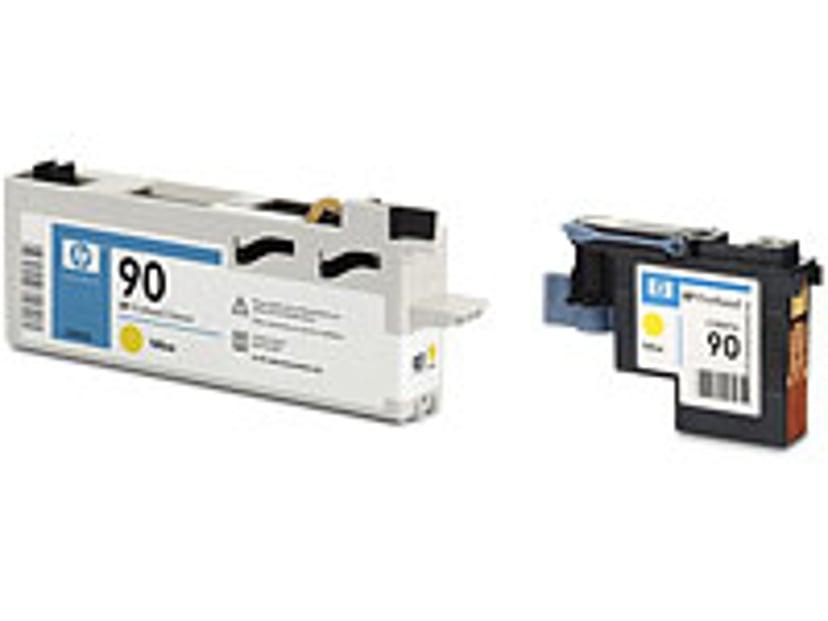 HP Printhead/Cleaner No.90 Gul TO DJ 4000