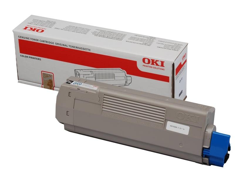 OKI Toner Svart 8k - C610