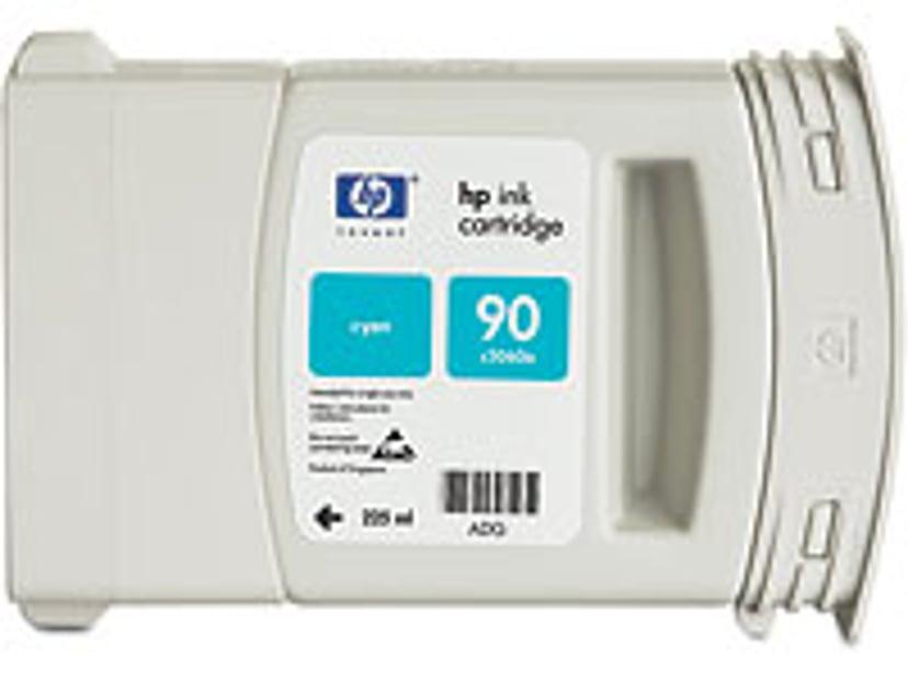 HP Bläck Cyan No.90 - DJ 4000 225 ML