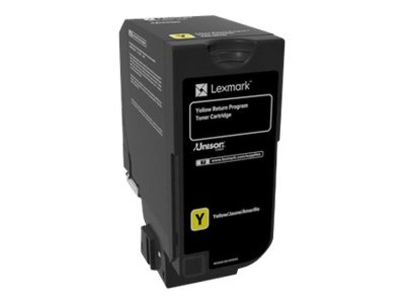 Lexmark Toner Gul 3k - CS720/CS725 Return