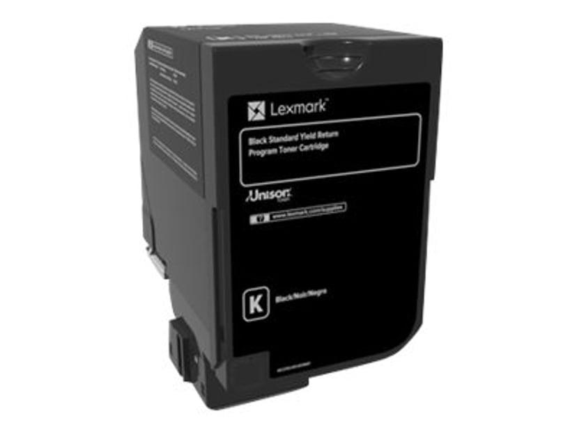 Lexmark Toner Svart 7k - CS720/CS725 Return