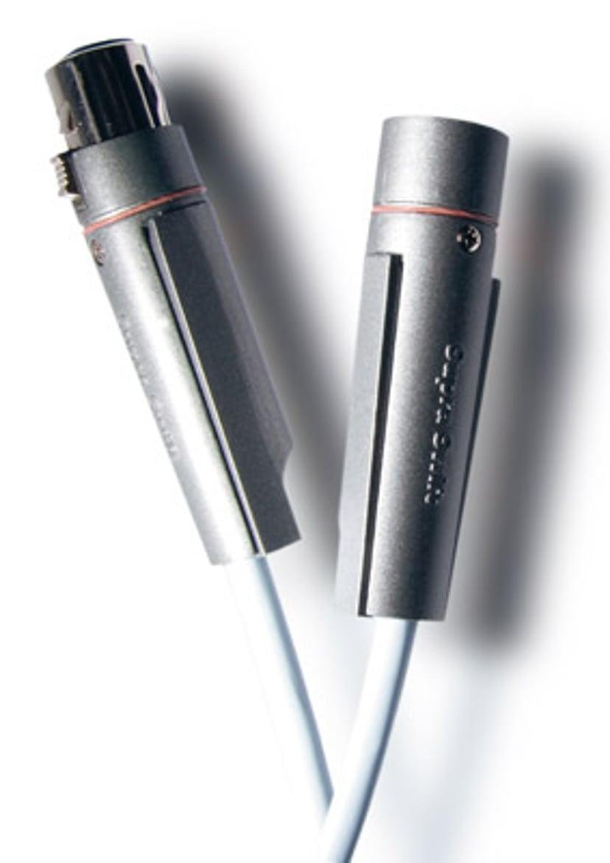 Jenving Supra DAC-Xlr Digital Blue PC 1m 1m 3-pins XLR Hann 3-pins XLR Hann