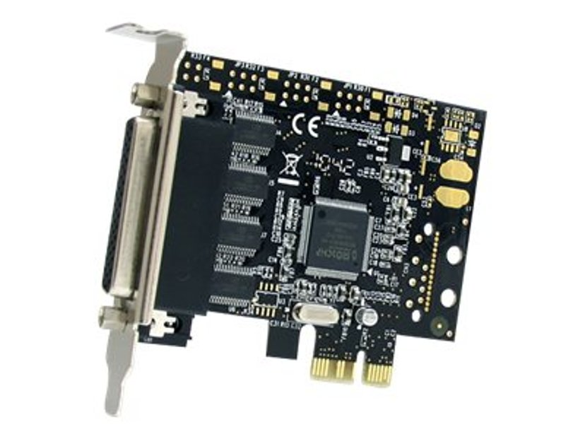 Startech 4 Port RS232 PCI Express Serial Card W/ Breakout Cable