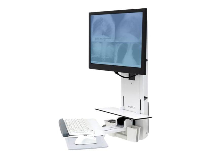 Ergotron Styleview Sit-Stand Patient Room Vl18 Hvit