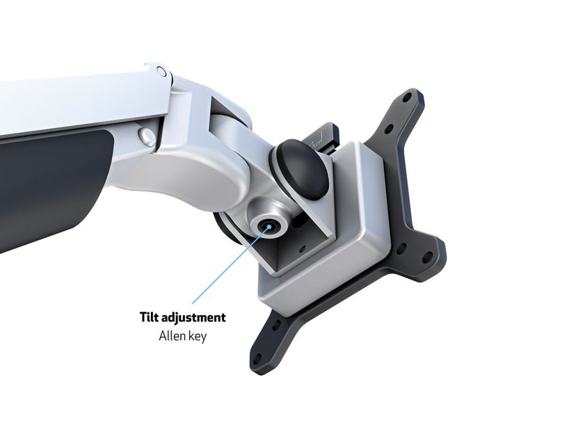 Multibrackets M VESA Gas Arm Quad Silver