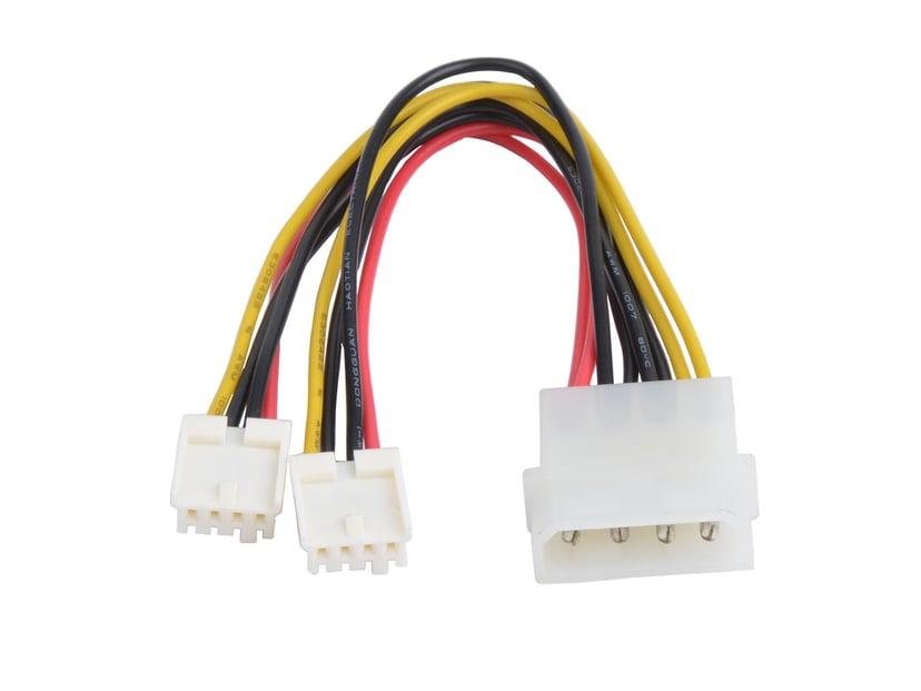 Prokord Strømkabel 4-pin intern strøm Hann 4-pin intern strøm Hann 0.15m