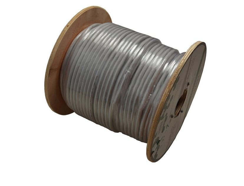 Prokord Samlet kabel CAT 6 Foliebelagt uskjermet tvinnet kabelpar (F/UTP) Grå 100m