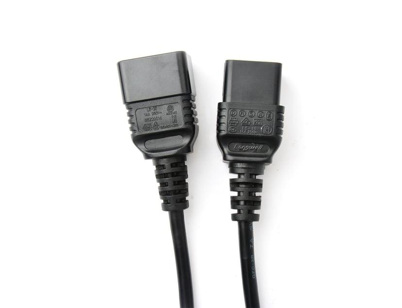 Prokord Strømforlengelseskabel Strøm IEC 60320 C20 Strøm IEC 60320 C19 2m