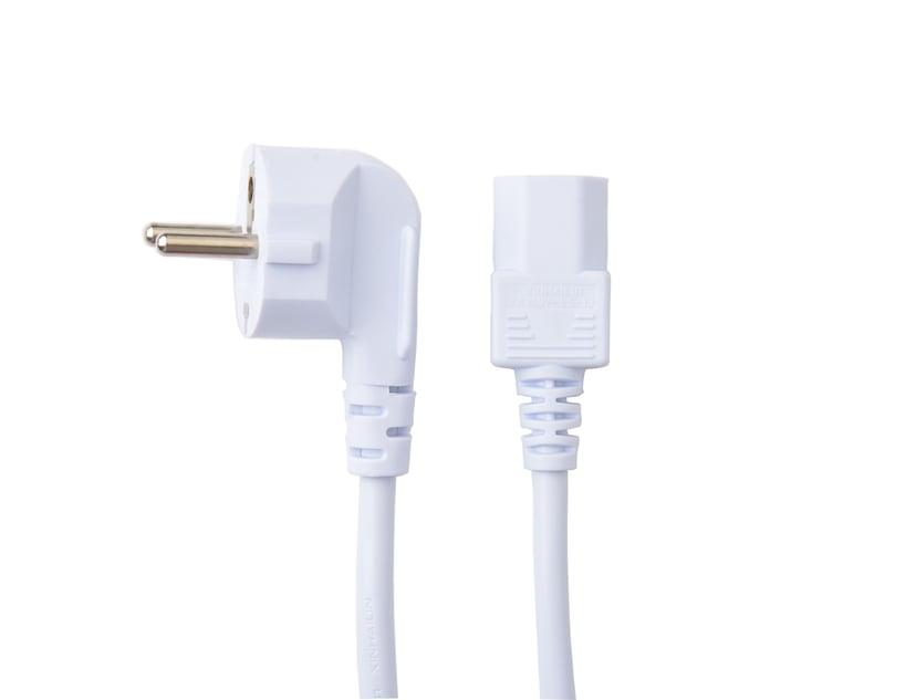 Prokord Strømkabel Strøm CEE 7/7 Han Strøm IEC 60320 C13 2m