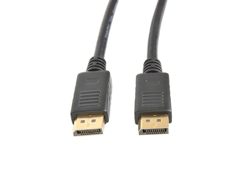 Prokord DisplayPort kabel DisplayPort Han DisplayPort Han 1m