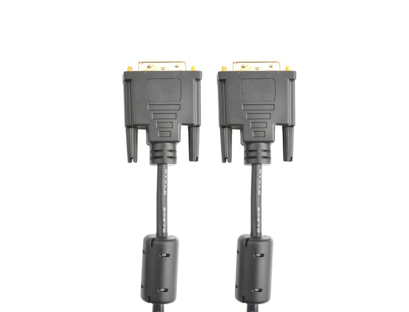 Prokord DVI-kabel DVI-D Han DVI-D Han 5m