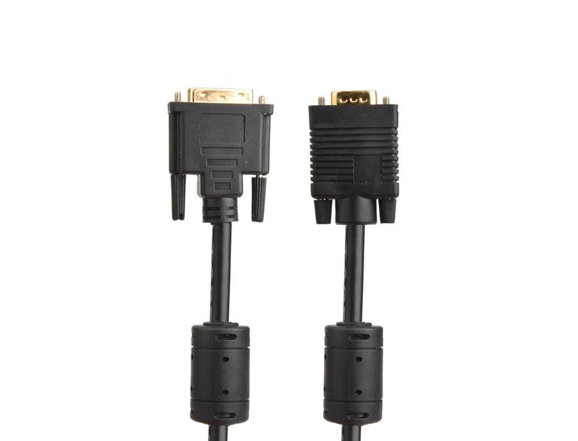 Prokord DVI-kabel DVI-A Hane VGA Hane 2m