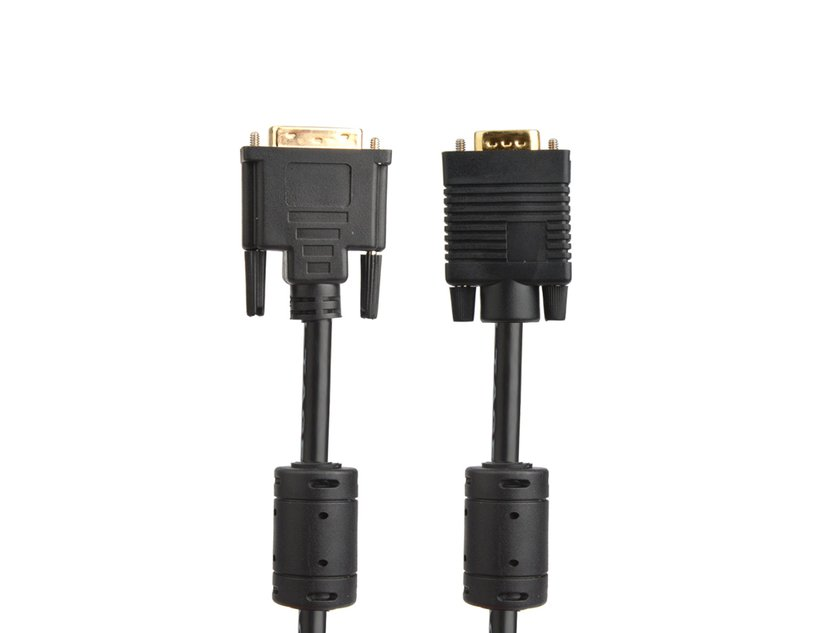 Prokord DVI-kabel DVI-A Hane VGA Hane 3m