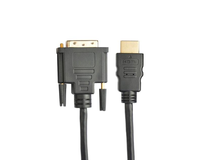Prokord HDMI-kabel DVI-D Hane HDMI Hane 3m
