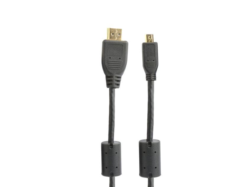 Prokord HDMI 1.4-kabel 2m HDMI Micro Hane HDMI Hane