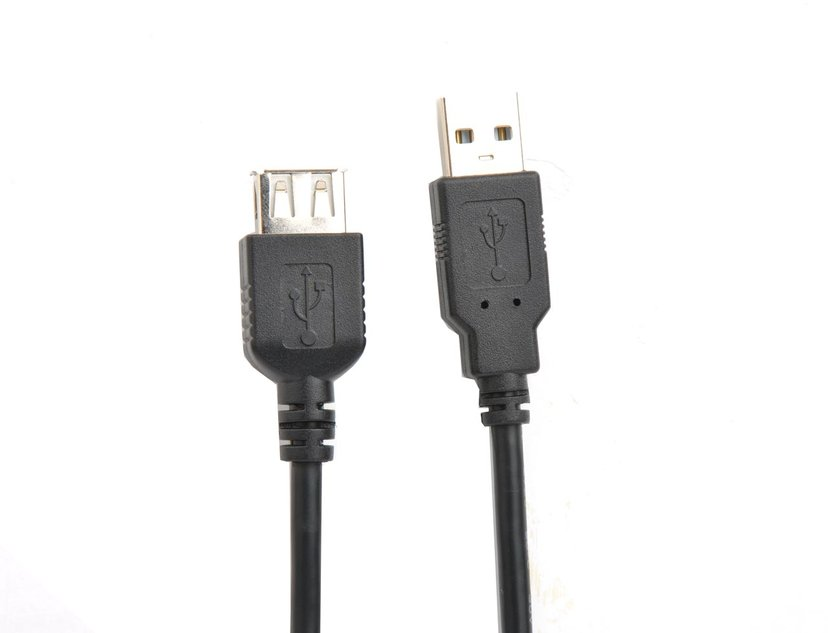 Prokord USB-kabel 4-stifts USB typ A Hane 4-stifts USB typ A Hona 0.2m