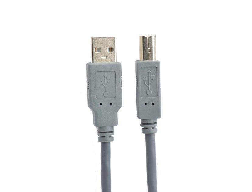 Prokord USB-kabel 5m 4-stifts USB typ A Hane 4-stifts USB typ B Hane