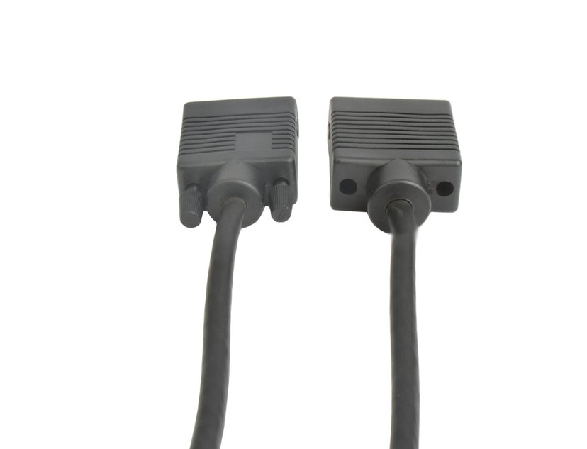 Prokord VGA-kabel 2m VGA Hane VGA Hona