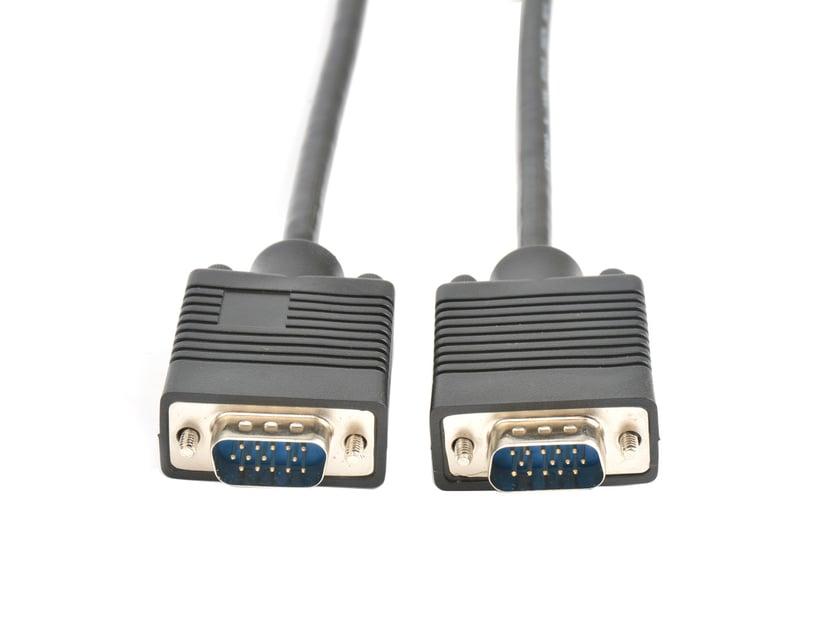 Prokord VGA-kabel 3m VGA Hann VGA Hann
