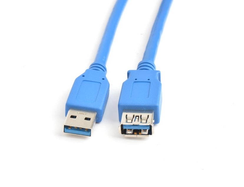 Prokord USB 3.0 förlängningskabel 9-stifts USB typ A Hane 9-stifts USB typ A Hona 1.5m