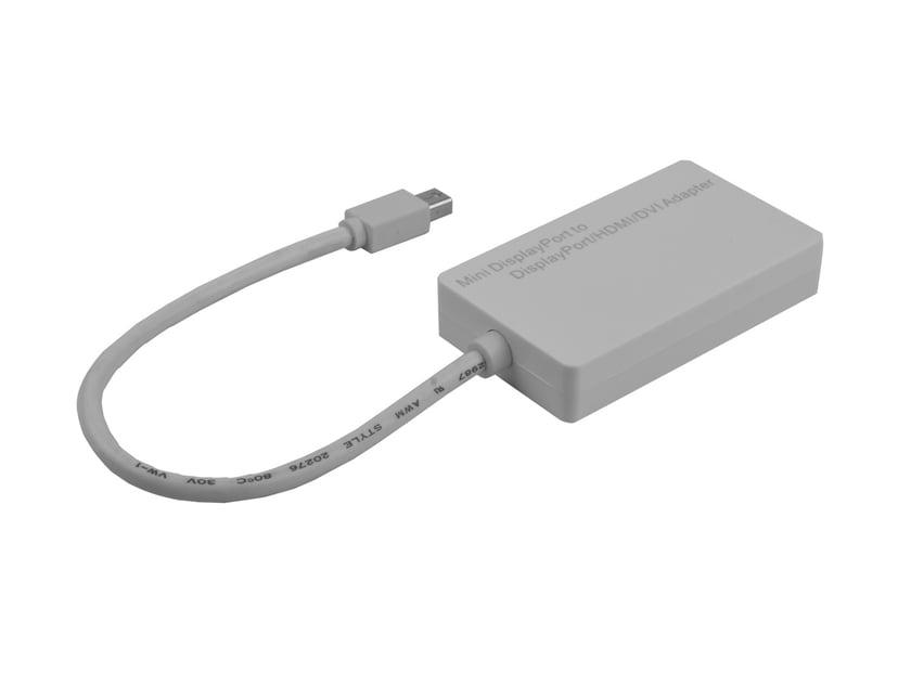 Prokord Videokort DisplayPort Mini Hane DVI-D, DisplayPort, HDMI Hona Vit