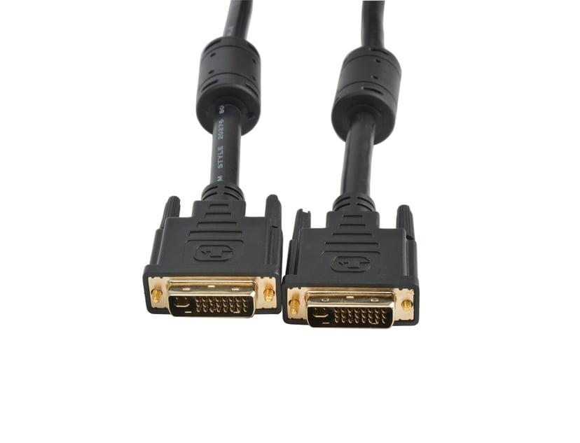 Prokord DVI-kabel 1m DVI-I Han DVI-I Han