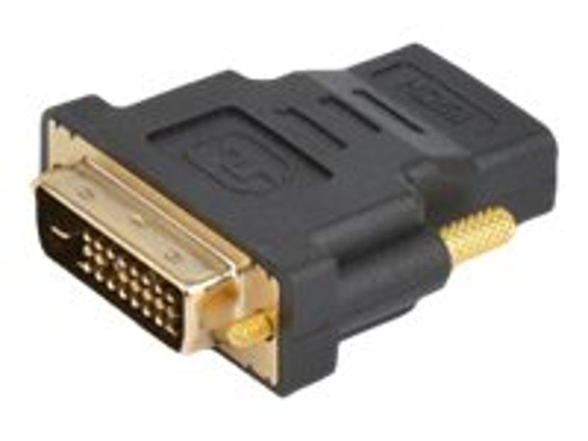 Prokord HDMI-adapter HDMI Hona DVI-D Dual Link Hane