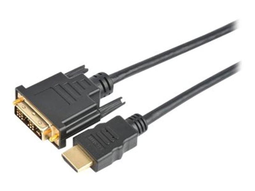 Prokord HDMI-kabel 10m DVI-D Hann HDMI Hann