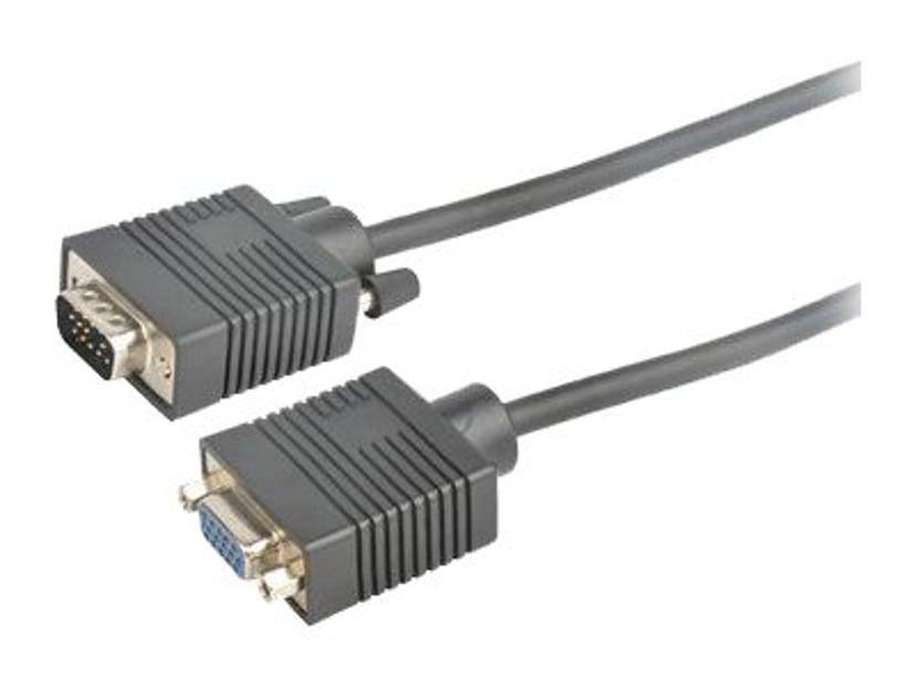 Prokord VGA-kabel VGA Hane VGA Hona 10m