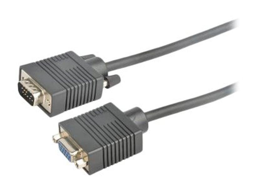 Prokord VGA-kabel 3m VGA Hann VGA Hunn