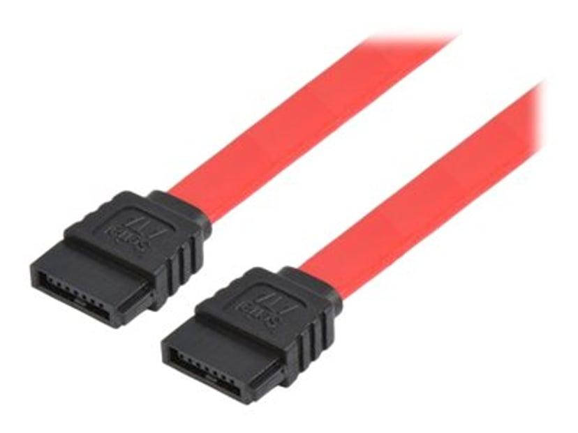 Prokord SATA/SAS-kabel 0.5m 7-pins seriell ATA Hann 7-pins seriell ATA Hann
