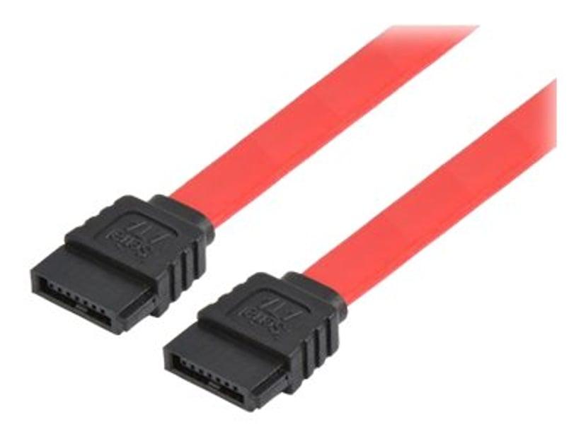 Prokord SATA/SAS-kabel 0.3m 7-stifts seriell ATA Hane 7-stifts seriell ATA Hane