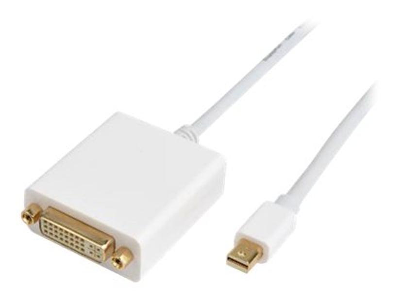 Prokord DisplayPort-kabel DisplayPort Mini Hane DVI-D Hona 1m