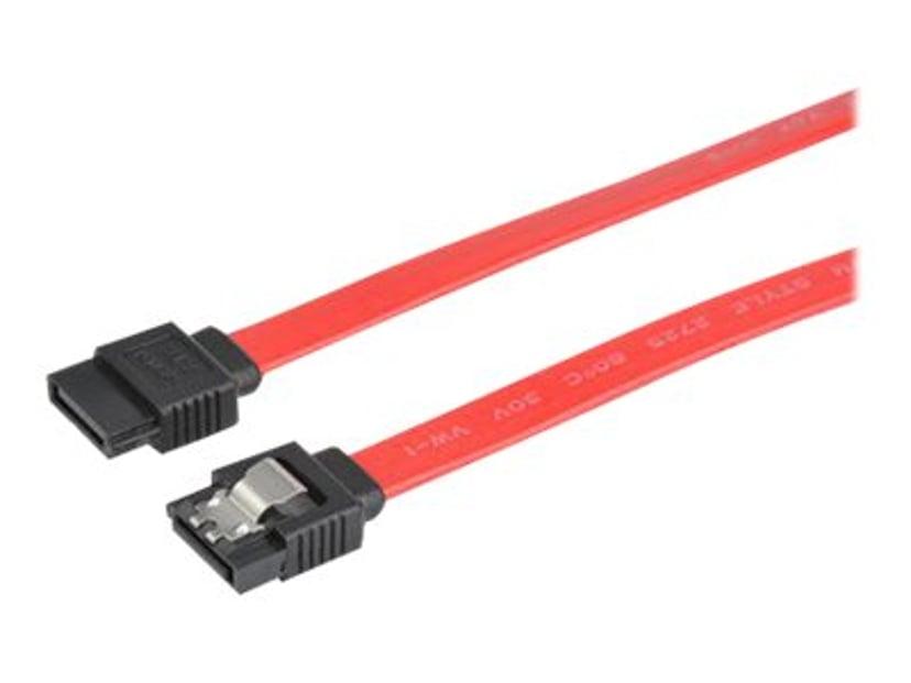 Prokord SATA-kabel 7-stifts seriell ATA Hane 7-stifts seriell ATA Hane 1m