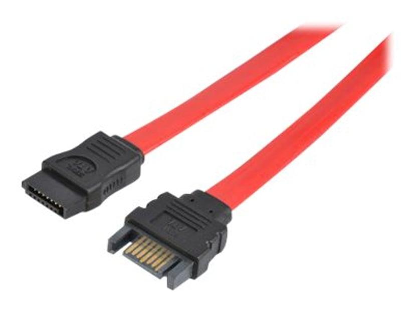 Prokord SATA-forlengelseskabel 0.3m 7-pins seriell ATA Hann 7-pins seriell ATA Hunn