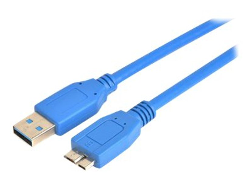 Prokord USB-kabel 1m 9-pins USB-type A Hann 9 pin Micro-USB Type B Hann