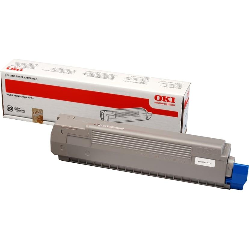 OKI Toner Svart 7k - C801