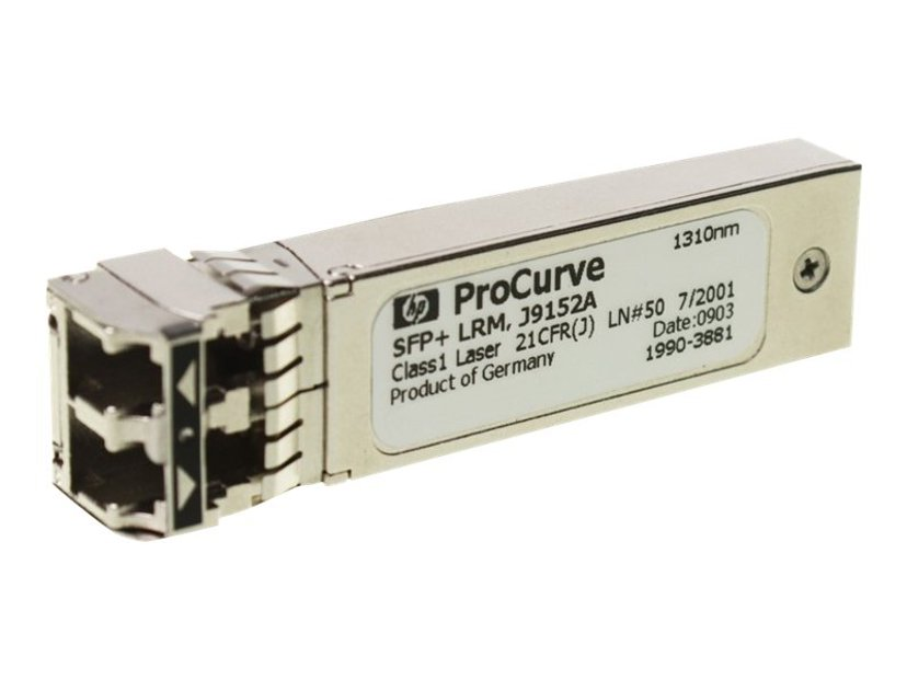 HPE SFP+ sändar/mottagarmodul 10 Gigabit Ethernet