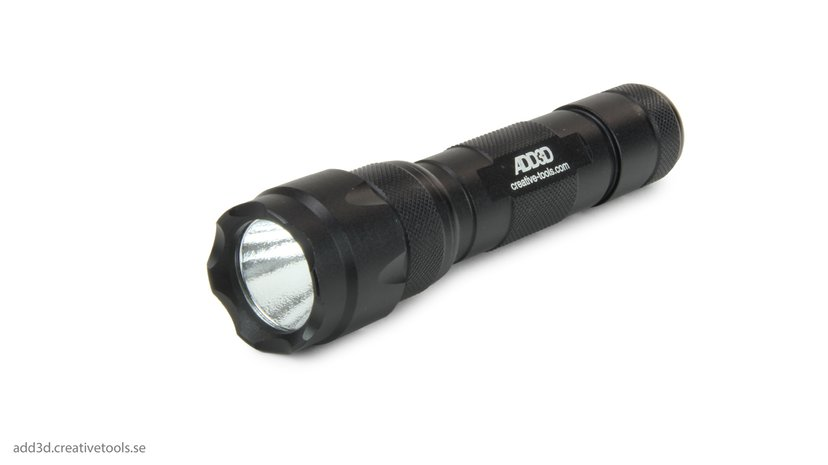 Add3d UV Flashlight With Rechargeable Battery And Charger