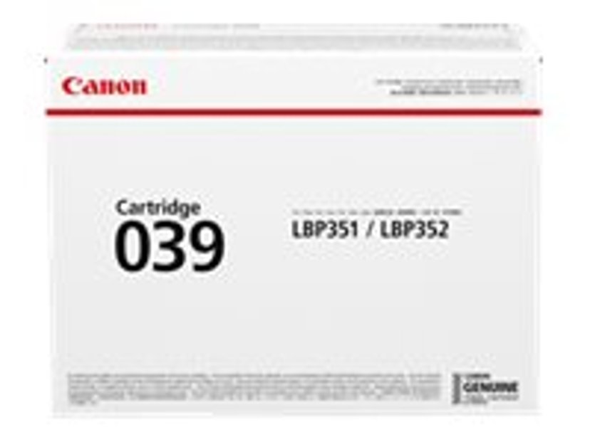 Canon Toner Svart 039 11k - LBP351/LBP352