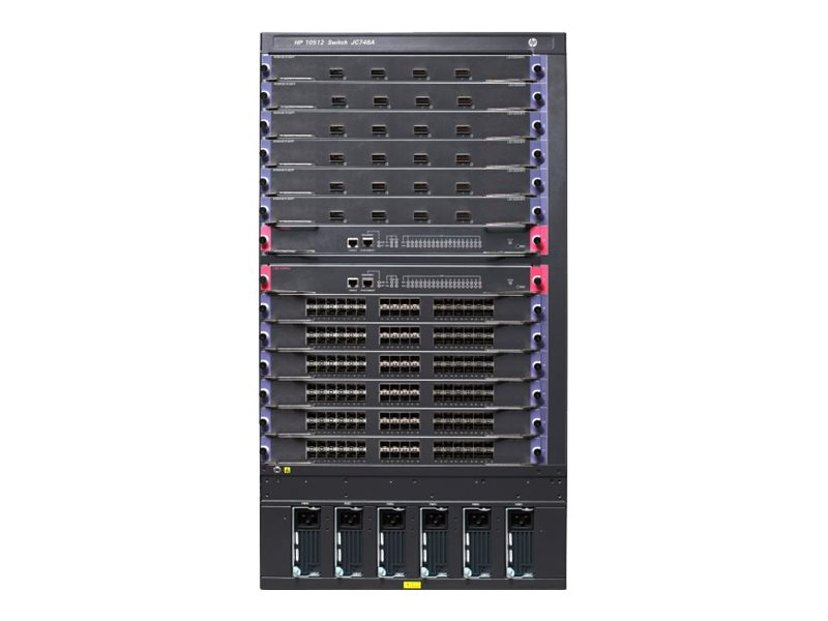 HPE 10512 Switch Chassis