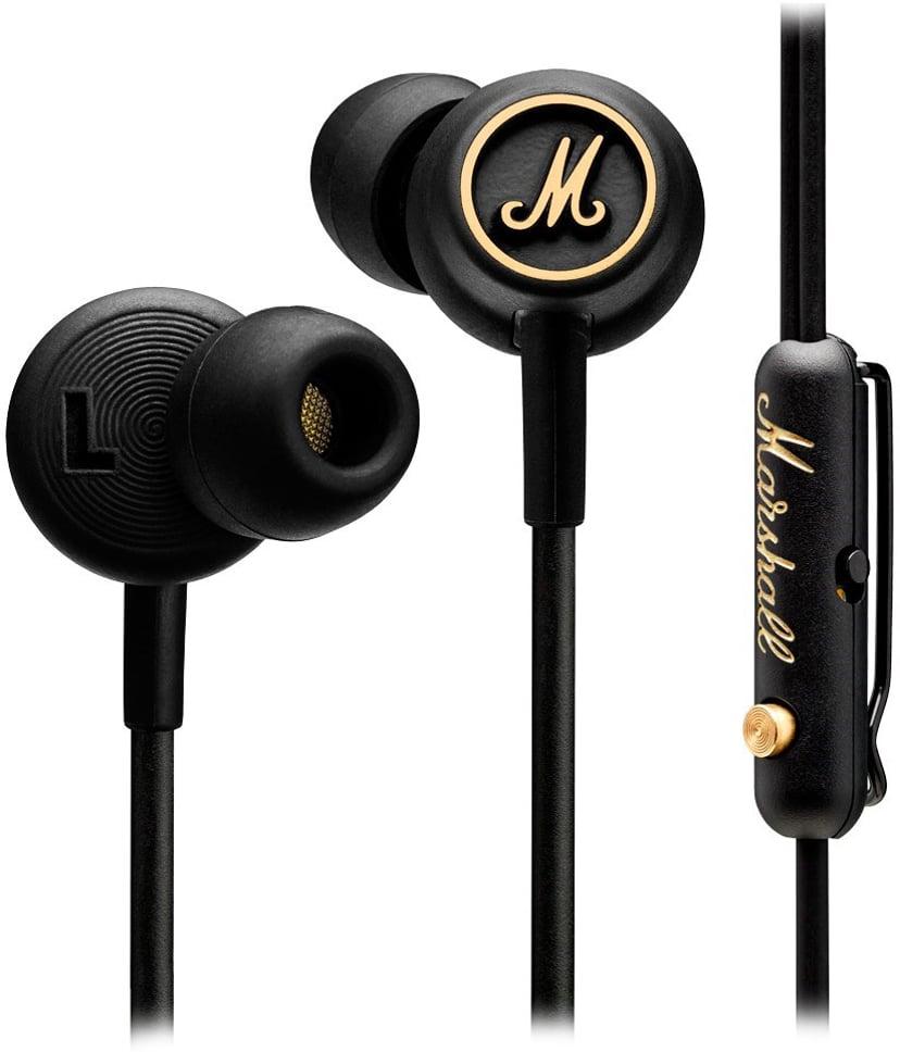 Marshall Mode EQ Black And Brass Gull, Svart