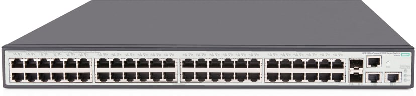 HPE OfficeConnect 1950 48xGbit, SFP+ PoE+ 370W Web-mgd Switch