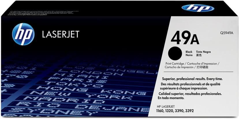 HP Värikasetti Musta 2.5K - Q5949A