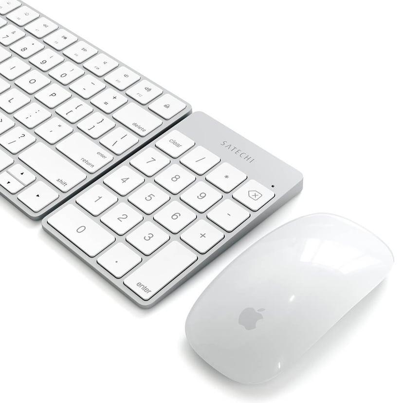 Satechi Slim Bluetooth Keypad - Silver Trådlös Tangentsats Silver