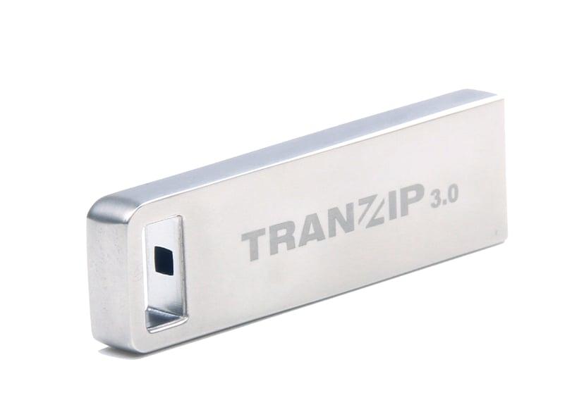 Tranzip Steel 16GB USB 3.0