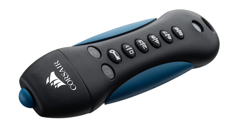 Corsair Padlock 3 16GB USB 3.0 256 bitars AES; FIPS 197