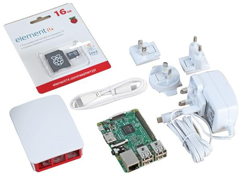 Raspberry Pi Official Raspberry Pi 3 Starter Kit White
